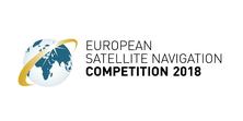 Els professors de l'EETAC, Jordi Gutiérrez i Pilar Gil, i l'ex-estudiant de l'EETAC que ara comença la tesi, Carlos Lledó, finalistes de l'European Satellite Navigation Competition (ESNC)