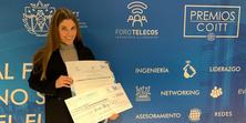 Anna Reig, guardonada amb el Premi COITT Futur de les Telecomunicacions