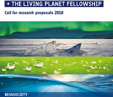 Call for Research Proposals of the Living Planet Fellowship 2018