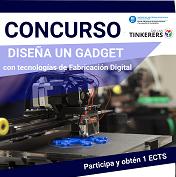 Diseña un gadget para la EETAC utilizando las herramientas de Fabricación Digital (Gratuito y consigue un 1 ECTS)