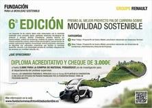 Convocatoria als VI Premis a la Millor Pràctica en Mobilitat Sostenible i Accessible
