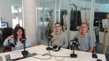 David García Vizcaino, professor de l'EETAC, entrevistat per Radio Castelldefels
