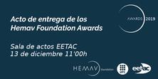 EETAC - HEMAV Foundation Awards 2019 Ceremony