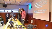 El contacte amb la ISS a TVE1, Ràdio Barcelona SER, La Xarxa Ràdio, Regió7 i al canal Super3