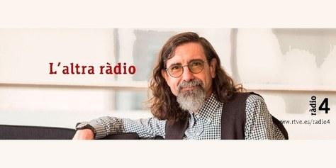 Gravació del programa Altra Ràdio de Ràdio 4 de RNE a l'EETAC