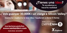 L'espai Emprèn UPC i el concurs Explorer del Banc Santander obren les portes als estudiants del Campus de Castelldefels