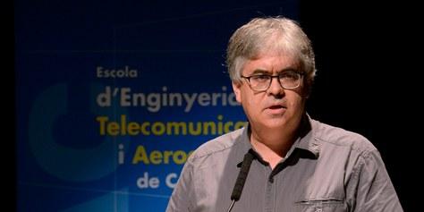 Miguel Valero García, professor de l'EETAC, guardonat amb la distinció Jaume Vicens Vives que atorga la Generalitat de Catalunya