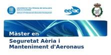 Nou Màster en Seguretat Aèria i Manteniment d'Aeronaus