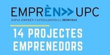 Presentació dels projectes emprenedors de l'Espai Emprèn  participants del concurs Explorer