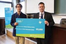 Ramon Dalmau, investigador de l'EETAC, es guardonat amb el premi SESAR per a joves investigadors
